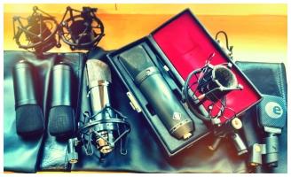 U87 und Kollegen: Mikrophone für die Flügelaufnahme